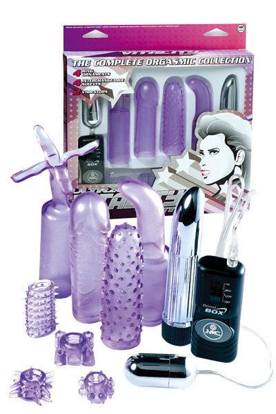 Вибронабор фиолетовый 11,5см - SexCity Секшоп с доставкой по Рубцовску