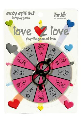Эротическая игра LOVE2LOVE SPINNER FOREPLAY GAME