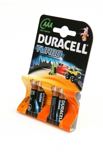 Батарейки 'Duracell TURBO ААА'