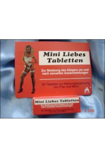 Таблетки для пар Mini Liebes Tabletten