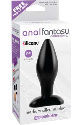 Средняя пробка Anal Fantasy Collection Medium Silicone Plug