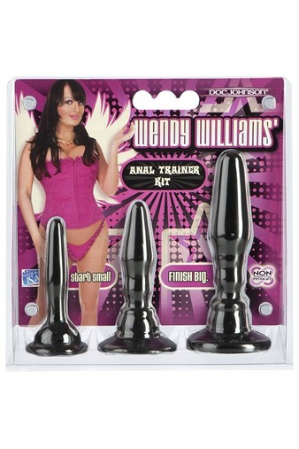 Набор втулочек Wendy Williams Anal Trainer Kit