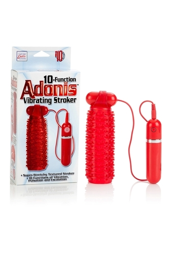 Мастурбатор 10-Function Adonis Vibrating Strokers