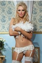 Lace affair garter belt white lc1085 1 746x1000