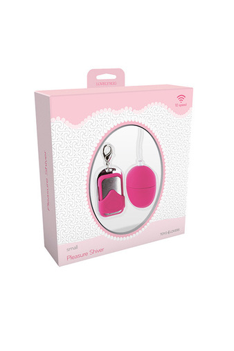 Вибромасажер VIBRATING EGG PLEASURE SHIVER SMALL PINK