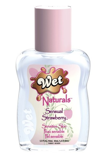 Гель-Лубрикант Wet Naturals Sensual Strawberry