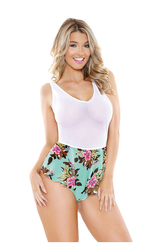 Боди Tropical Print Romper