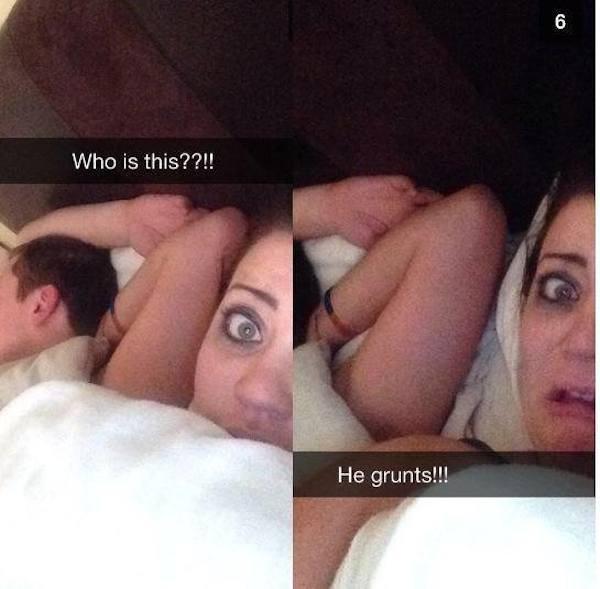 Девушка скинула свои фото как трахается с парнем
