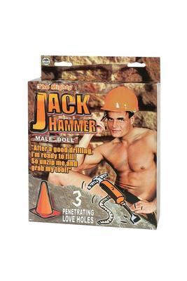 Кукла мужчина Jack Hammer